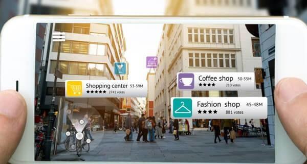 Offres réalité augmentée Voyages - Agence Transformation Digitale