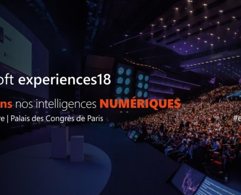 Microsoft Experiences18 - Evenement Transformation Digitale